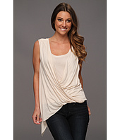 BCBGMAXAZRIA - Brooke Draped Front Top