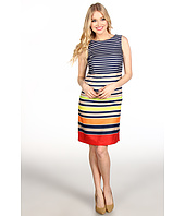 Ellen Tracy - Striped Sheath Dress