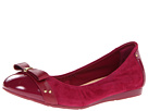 Cole Haan - Air Monica Ballet (Winery Suede/Patent) - Footwear