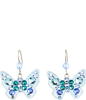 Tarina Tarantino - Micro Pave Butterfly Earrings