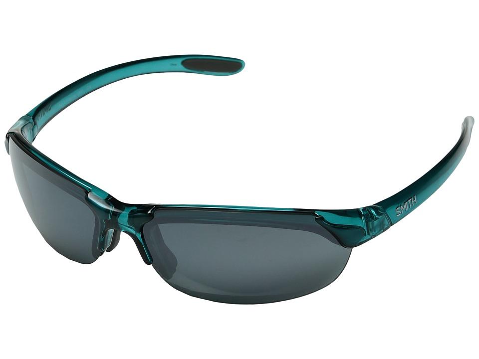Smith Optics Parallel (Aqua Marine/Platinum Mirror/Ignitor/Clear) Sport Sunglasses