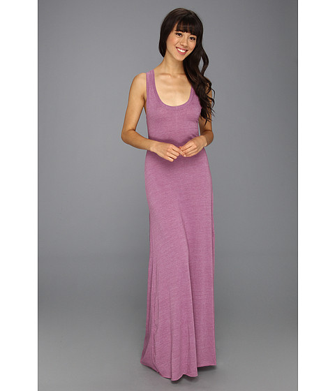 Cheap Alternative Apparel Racerback Maxi Dress Eco True Prune