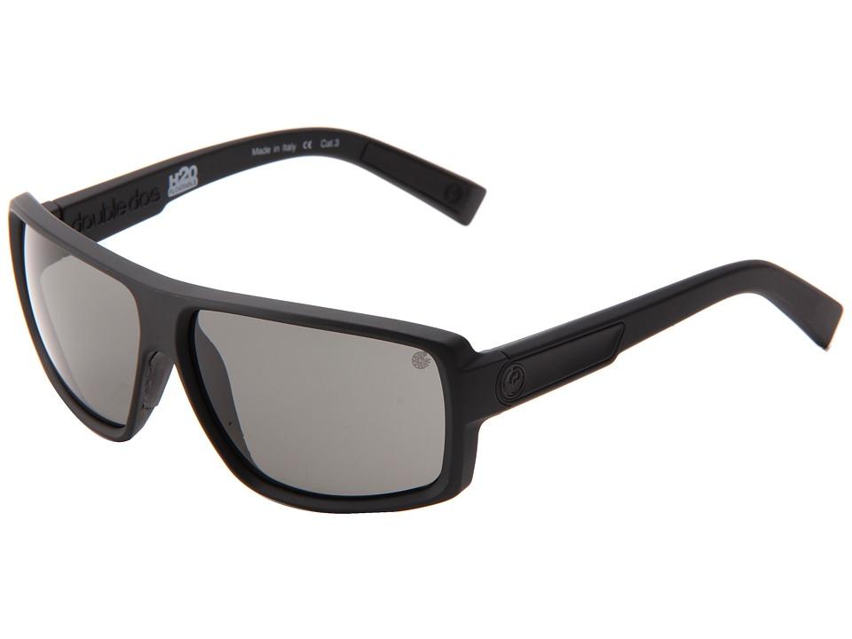 Dragon Alliance Double Dos H20 Floatable Matte H2O/Grey P2 Sport Sunglasses