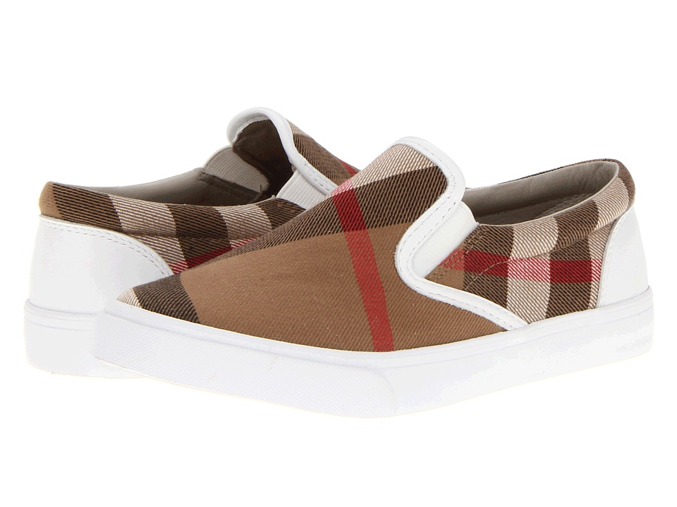 Burberry Kids - Linus (Toddler/Little Kid) (White) Kids Shoes