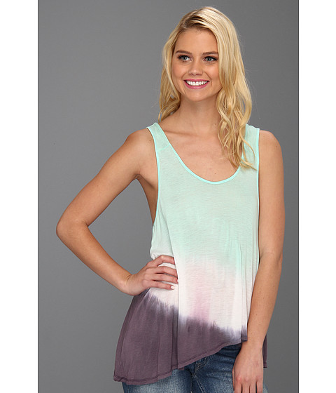Cheap Alternative Apparel Summers End Tank Holiday Blue Ombre Wash
