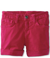 True Religion Kids - Girls' Heidi Cuffed Short (Toddler/Little Kids/Big Kids)