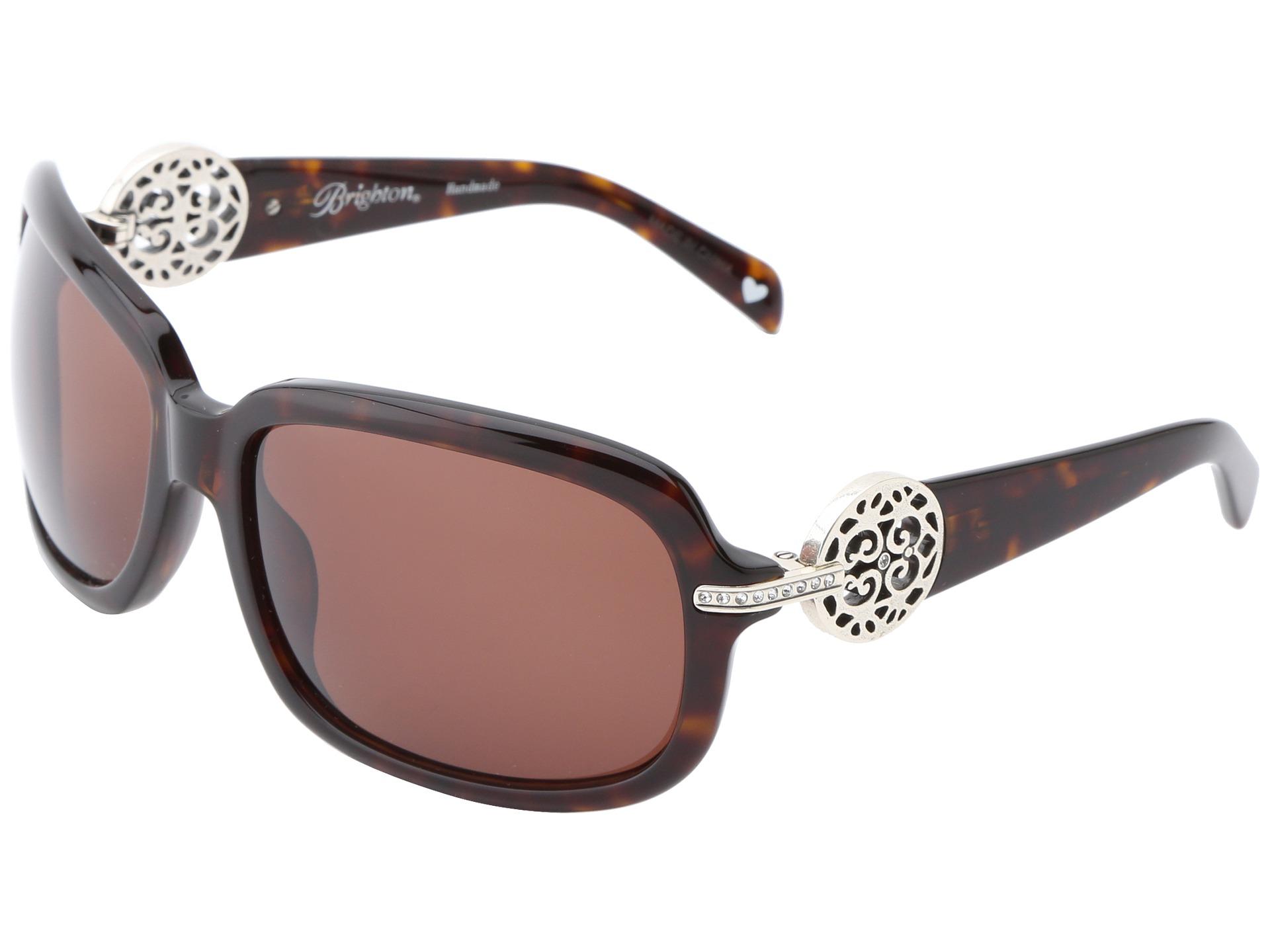 brighton destino sunglasses tortoise silver