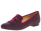 Cole Haan - Sabrina Tassel Loafer (Winner Flannel/Winery Suede) - Footwear