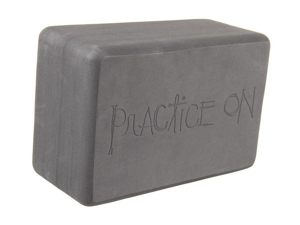 Manduka Recycled Foam Block Thunder Athletic Sports Equipment