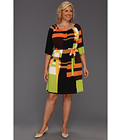Christin Michaels - Plus Size Jenilee Dress