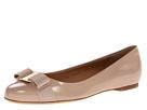 Salvatore Ferragamo - Varina (New Bisque Patent) - Footwear