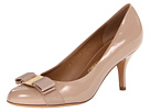 Salvatore Ferragamo - Carla (New Bisque Patent) - Footwear