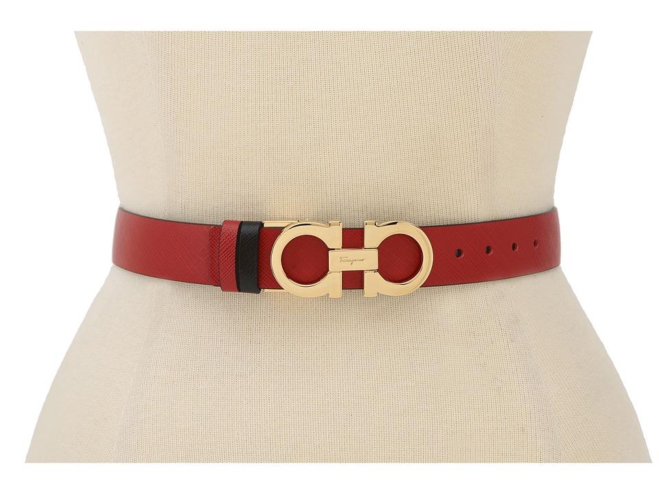 Salvatore Ferragamo - A565 Belt (Rosso Tissu) Women