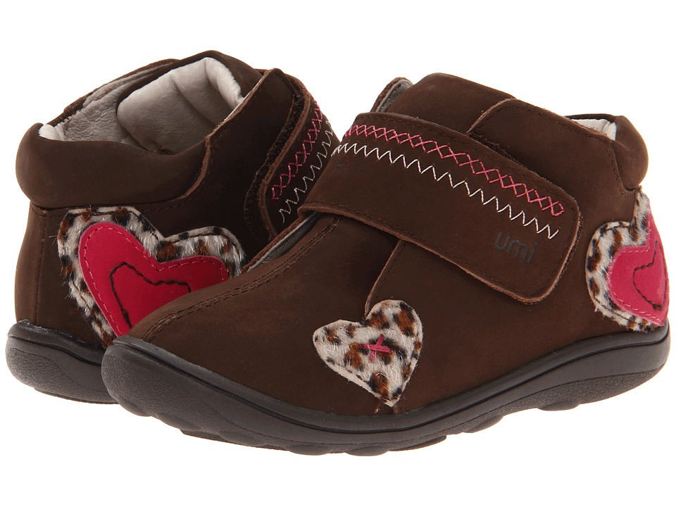 Umi Kids Brooke (Toddler) (Chocolate Multi) Girl's Shoes