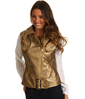 dollhouse - Embossed Metallic PU Vest
