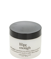 Philosophy - when hope is not enough replenishing cream