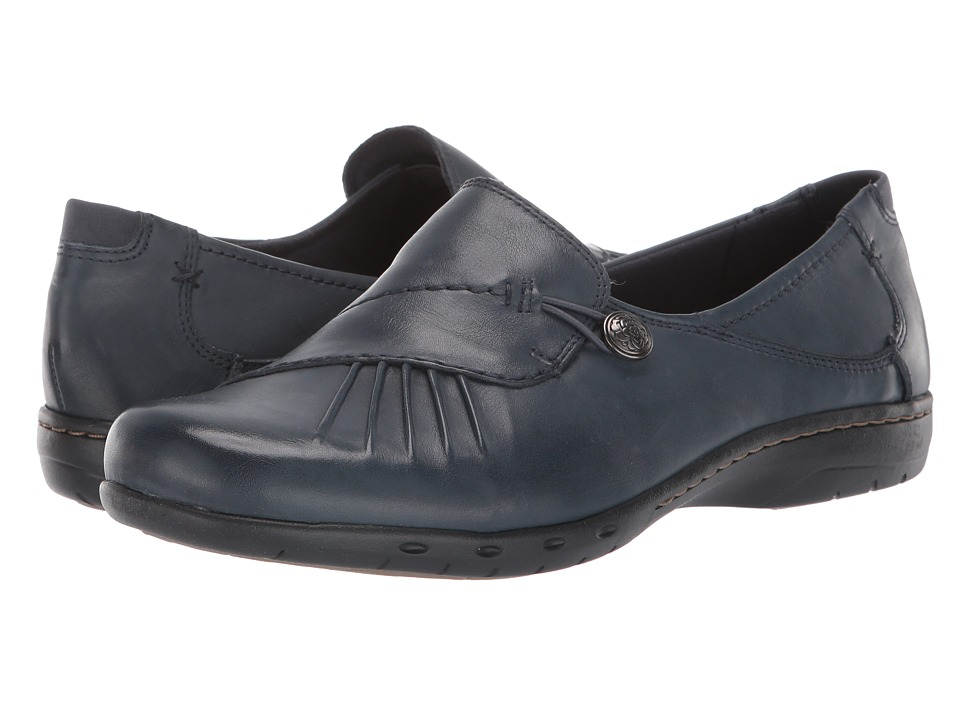 Cobb Hill Paulette Navy Womens Slip on Dress Shoes