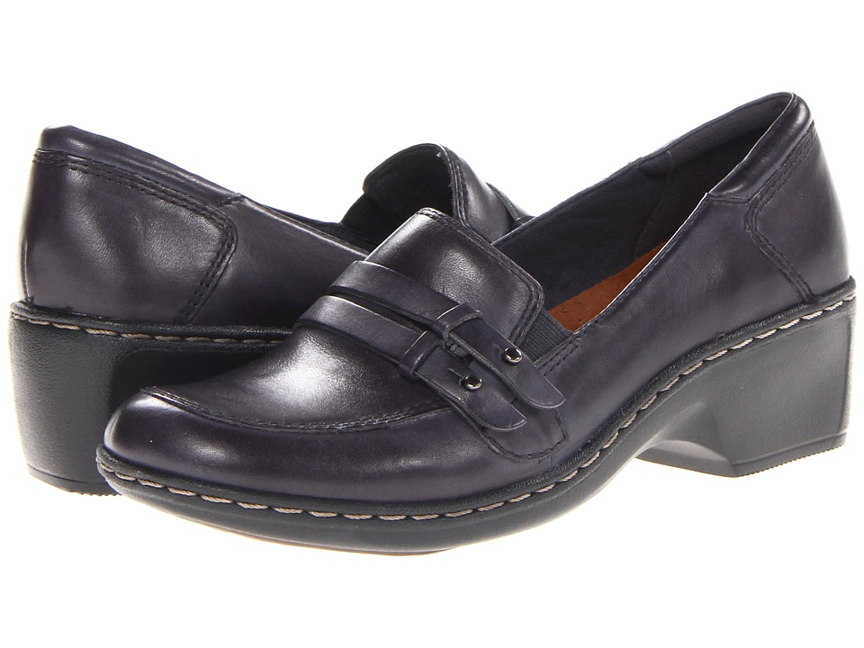Cobb Hill Deidre Navy Womens Wedge Shoes