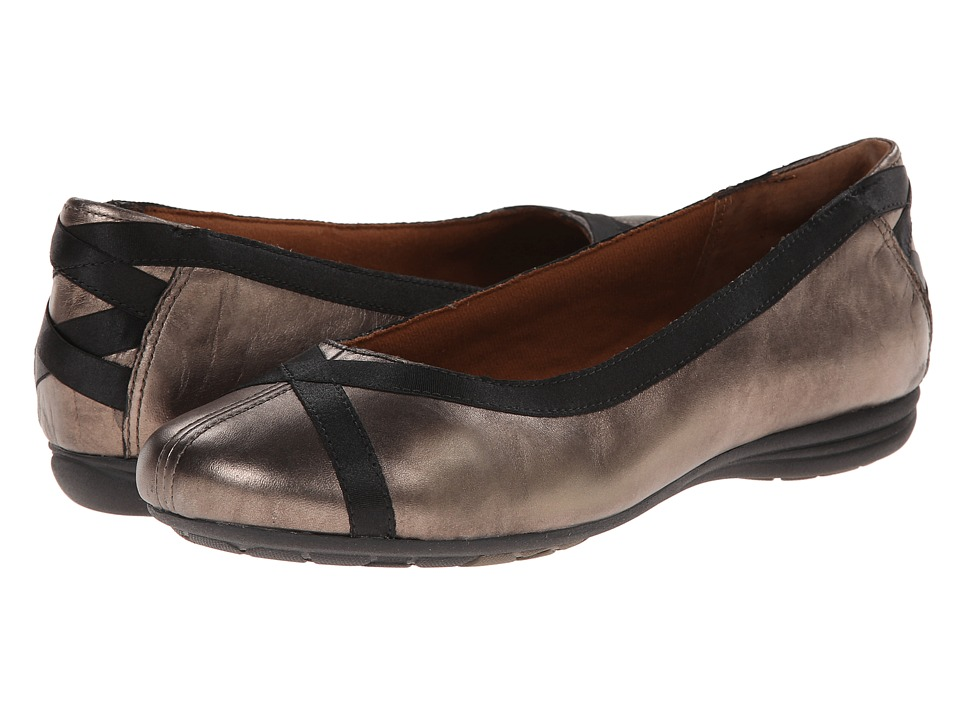 Cobb Hill RevChi Pewter Womens Dress Flat Shoes