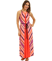 Maggy London - Striped MJ Maxi Dress