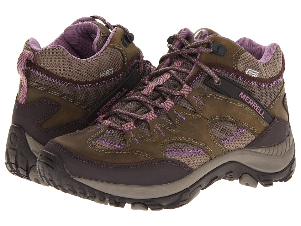 Merrell - Salida Mid Waterproof (Brindle) Women
