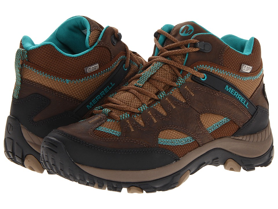 Merrell - Salida Mid Waterproof (Dark Earth) Women