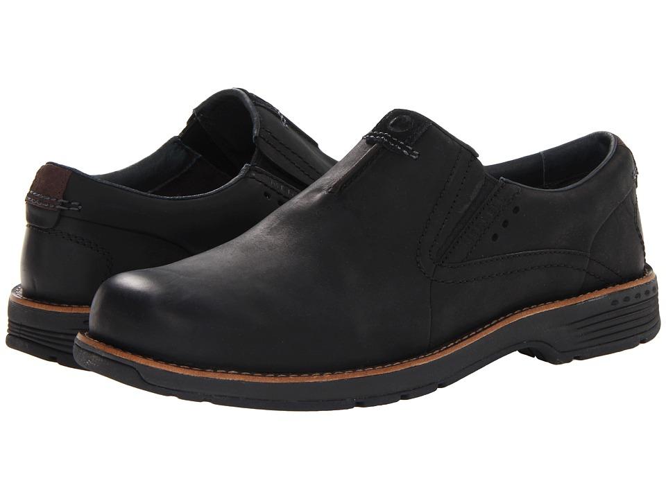 Merrell Realm Moc (Black) Men's Moccasin Shoes
