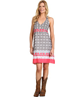 Stetson - New Vintage Border Print Halter Dress