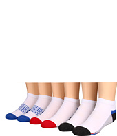 Jefferies Socks - Sporty Low Cut 6 Pair Pack (Toddler/Little Kid/Big Kid/Adult)