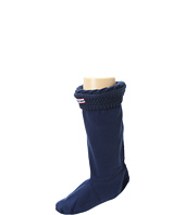 Hunter Kids - Moss Cable Cuff Welly Sock (Toddler/Little Kid/Big Kid)
