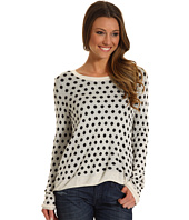 Kensie - Drapey Dot Sweater