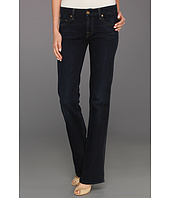 7 For All Mankind - Kimmie Bootcut w/ Contoured Waistband in Slim Illusion Dark Rich Blue