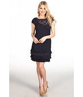 Jessica Simpson - Scoop Back Dress w/ Tiered Hem Ruffles