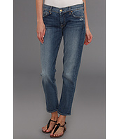 7 For All Mankind - Josefina w/ No Roll in Light Blue Distressed