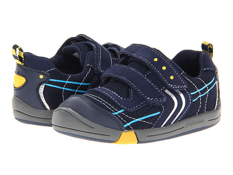 Jumping Jacks Kids Lazer (Toddler) - Dark Navy Suede