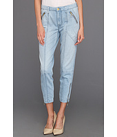 7 For All Mankind - Zip Fashion Chino in Lightweight Tencel Denim
