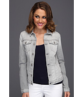 7 For All Mankind - Denim Jacket in Light Grey Destroy