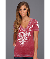 Affliction - Iron Heart S/S V-Neck Tee