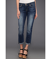 7 For All Mankind - Skinny Crop & Roll in Authentic Bright Blue