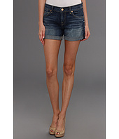 7 For All Mankind - Relaxed Mini Roll-Up Short in Authentic Bright Blue