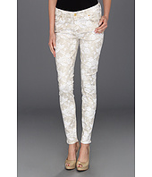 7 For All Mankind - The Skinny Floral Spray Lace