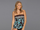 Miraclesuit - Bamboozled Legrand Tankini Top (Chocolate) - Apparel
