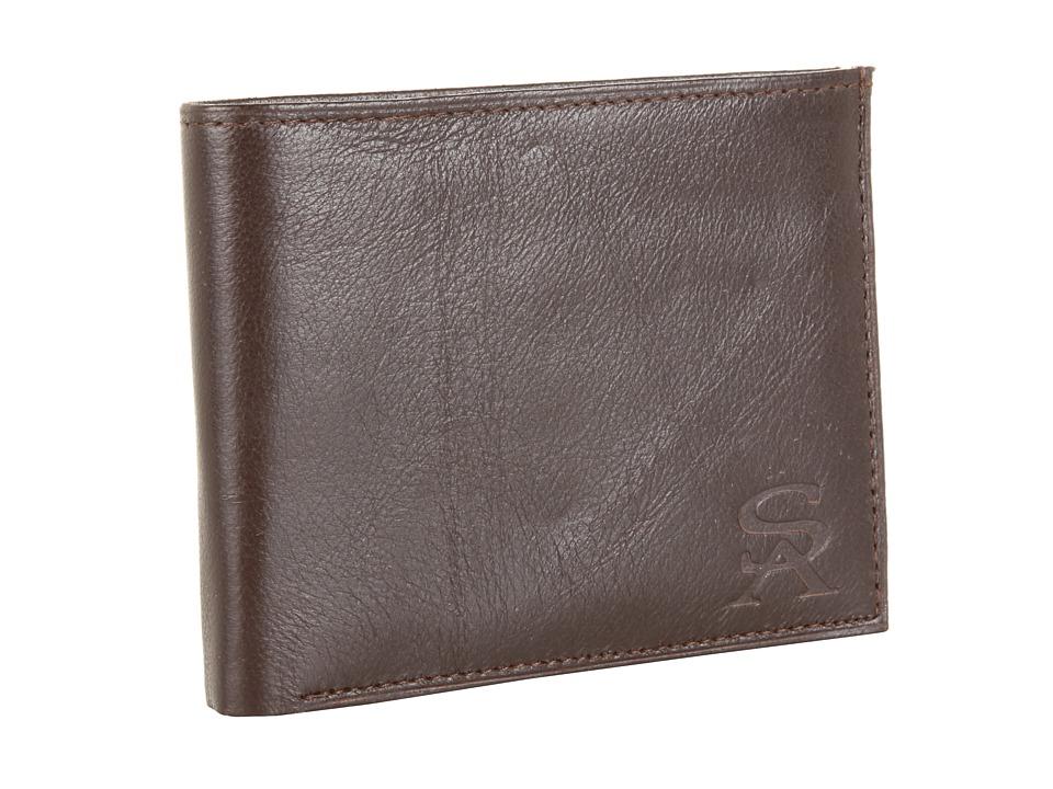 Stacy Adams Bi Fold Wallet Brown Bi fold Wallet