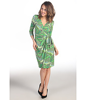Maggy London - Printed MJ Wrap Dress
