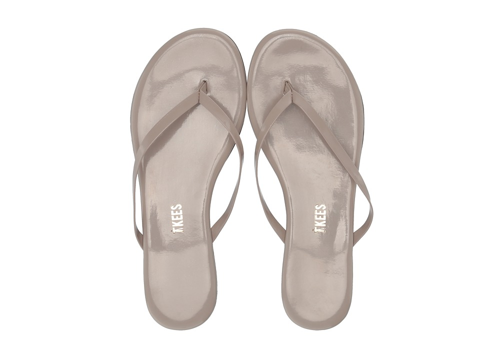 TKEES Glosses (Custard) Sandals