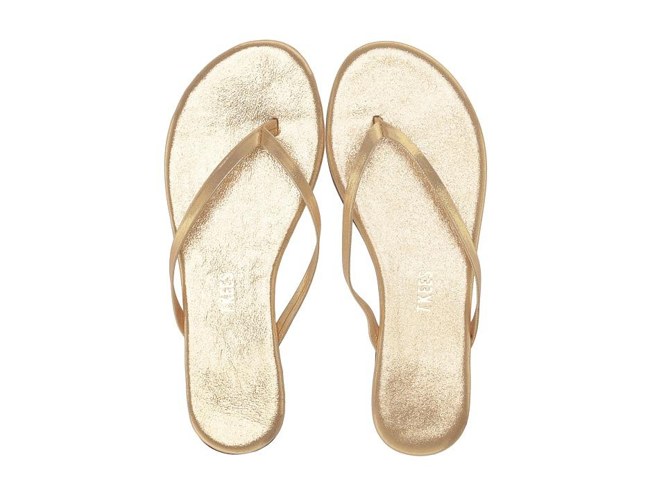 TKEES Flip Flop Glitters Sandbeam Womens Sandals