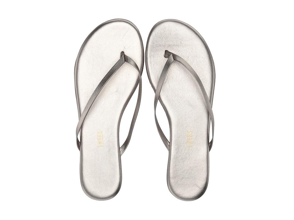 TKEES Flip Flop Shadows Frosty Grey Womens Sandals