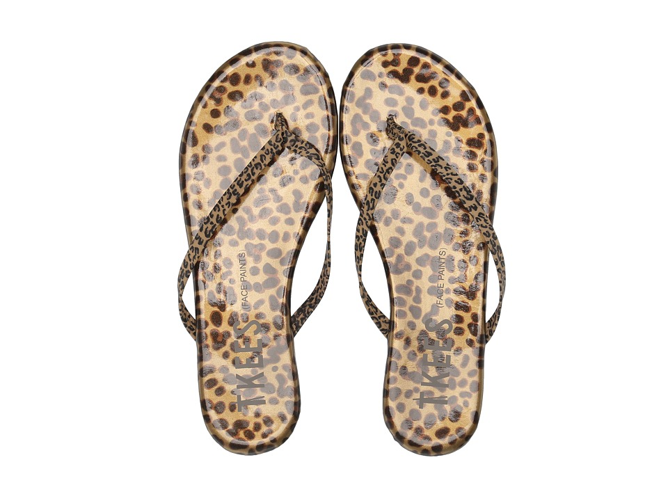 TKEES - Face Paints (Chatty Cheetah) Womens Sandals