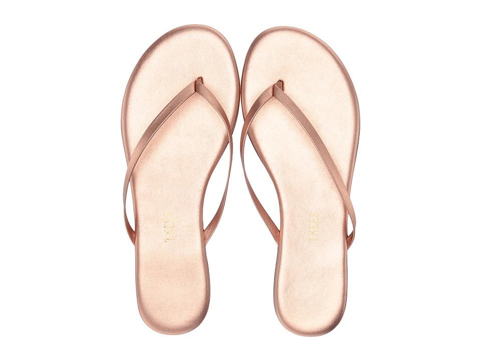 TKEES Flip Flop Shadows Beach Pearl Womens Sandals