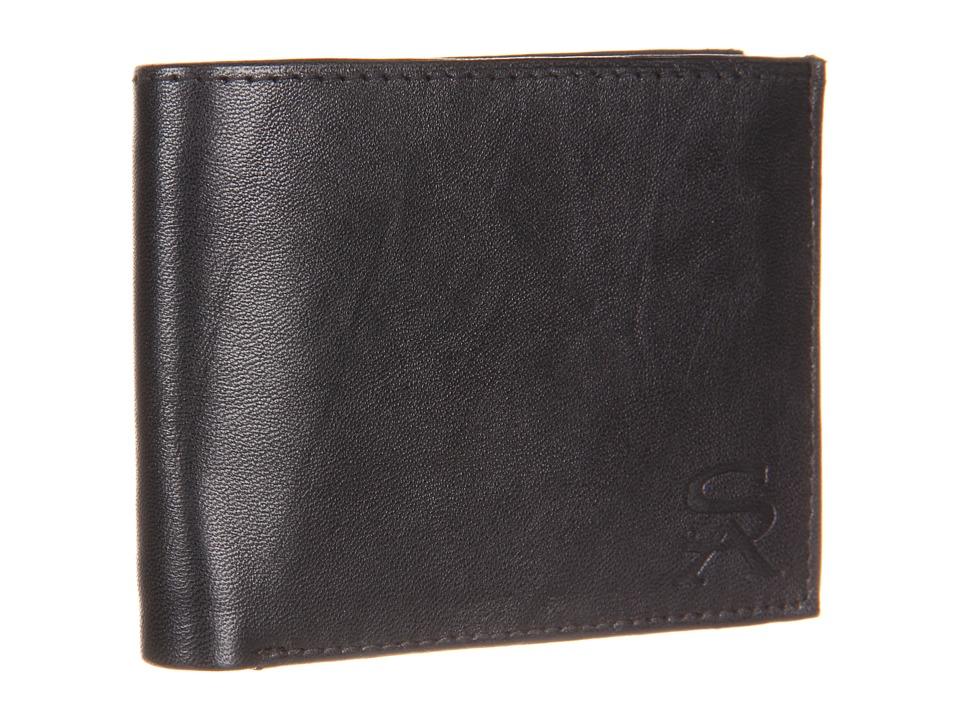 Stacy Adams Bi Fold Wallet Black Bi fold Wallet